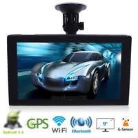 "9"" androide Auto Camion GPS Navigation Sat Nav Navigatore DVR FM 16G Free Map"