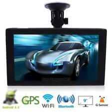 "9"" androide Auto Camion GPS Navigation Sat Nav Navigatore DVR FM 16G Free Map"