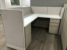 Used Office Cubicles, Haworth Places 5x6 Cubicles