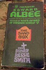 EDWARD ALBEE THE SAND BOX & THE DEATH OF BESSIE SMITH PB 1st PRINTING 1963