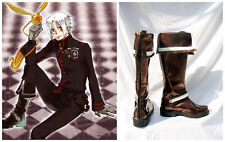 D Gray-man Allen Walker New Version 3 Cosplay Costume Boots Boot Shoes Shoe