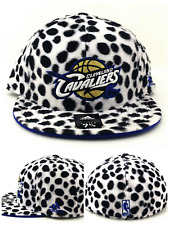 pretty nice a014d 9af42 Cleveland Cavaliers New Adidas Dalmatians Black White B Era Fitted Hat Cap  7 5 8