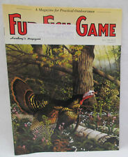 Fur Fish Game Magazine April 1994 Guide To Spring Bass - Beaver Trap