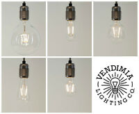 Vintage Industrial Dimmable LED Filament Edison Light Bulbs E27 ES & B22 Bayonet