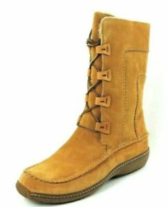 Timberland Fauna Lace BT Womens Boots Shoes SZ 10 Brown 96308 Winter Suede New