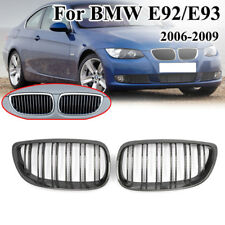 Carbon Fiber Look Kidney Grille fit for BMW E92 E93 M3 Coupe 06-09 Perfect Match