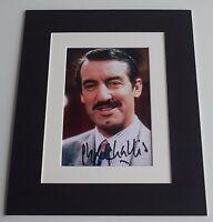 John Challis Signed Autograph 10x8 photo display Only Fools Horses TV AFTAL COA