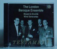 CD The London Baroque Ensemble Mozart & Dvorak Wind Serenades Testament neu ovp