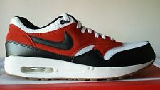 NIKE AIR MAX 1 ESSENTIAL WHITE BLACK RED NUM. AVAILABLE 40-41-40,5-44-45