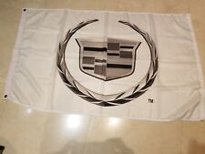 "Cadillac Europe "" TM "" NOS Original Dealership Showroom Banner 56"" x 33"""