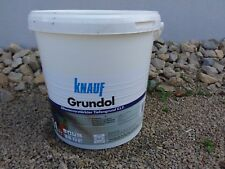 Grundol Tiefengrund, original und neu von Knauf im 10l Eimer- sehr hochwertig