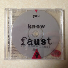 FAUST - YOU KNOW FAUST CD