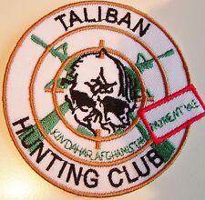 SAS PARACHUTE REGIMENT MARINES GENUINE TALIBAN HUNTING CLUB PATCH  VERY RARE