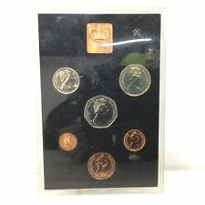 1971 Coinage of Great Britain & North Ireland Royal Mint 7pc Coin Proof Set #568