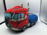 Transformers Authentic Hasbro Optimus Prime Truck Robot Plush Kids Stuffed Toy