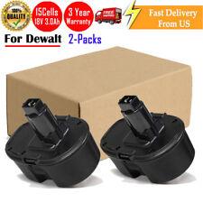 For Dewalt 18V XRP Battery DC9096 DC9098 DC9099 DW9095 NiMH Power Tools - 2Packs