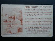 More details for music song theme ma curly headed babby nègre clutsam berceuse c1903 ub postcard