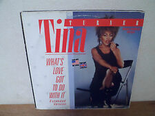 """LP 12"""" MAXI - TINA TURNER - What's love got to do with it - VG+/EX"""