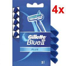 20 Stück Gillette Blue 2 Plus Einwegrasierer Herrenrasierer Rasierer NEU 4 x 5