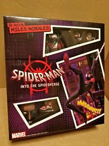 OFFICIAL SPIDER-MAN INTO THE SPIDER-VERSE MILES MORALES SV ACTION FIGURE SEALED
