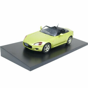 1/43 Honda S2000 Cabriolet Model Car Diecast Toy Vehicle Boys Cars Gift Yellow