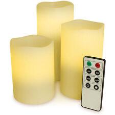 Candele e lumini a LED in cera per la decorazione della casa