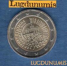 2 euro Commémo - Allemagne 2015 Réunification G Karlsruhe Germany