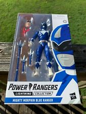 New listing Power Rangers Lightning Collection Blue Ranger Mighty Morphin In Hand Mint Billy