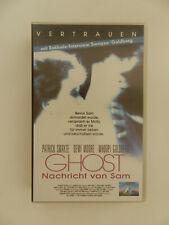 VHS Video Kassette Ghost Nachricht von Sam Patrick Swayze Demi Moore