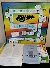 Fly-In rare vintage board game 1985 near complete fly in pilot airplane plane