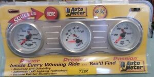 Auto Meter guages 3 pack