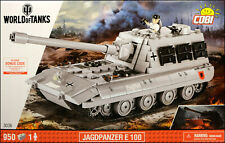 COBI Jagdpanzer E100 - World of Tanks (3036) - 950 elem. - WW2 German concept TD