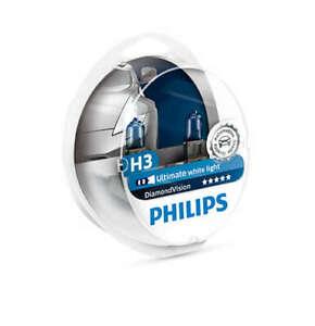 Philips 12336DVS2 - Diamond Vision H3 Globe 12V 55W (2Pk) fits Land Rover Ran...