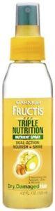Garnier Fructis Triple Nutrition Spray - 4.2 Oz