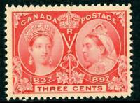 Canada 1897 Jubilee 3¢ Scott # 53 MNH D432