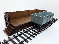 Laser Cut O Gauge Railway Wooden Coaling Stage MDF Kit