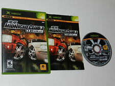 Midnight Club 3 DUB Edition Microsoft Xbox Video Game Complete
