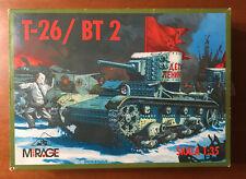 T-26/BT2 - 1/35 Mirage Studio (Of Russia) Unassembled AFV Kit - No decals