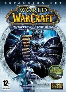 Factory Sealed WOW The Wrath of the Witch King World of Warcraft PC Game UK