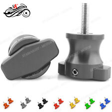 6MM Motorbike CNC Aluminum Swing Arm Spools Slider For Aprilia RSV1000 Mille/R