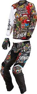 O'Neal Mayhem-Lite Crank Combo - Jersey Pant MX Motocross Dirt ATV Off-Road Gear