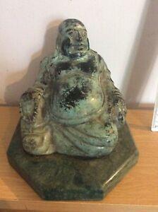 OLD & UNUSUAL CHINESE BRONZE BUDDHA