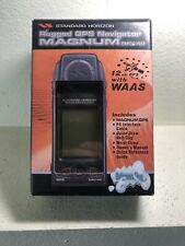 Standard Horizon Magnum Nav-40 Gps In Open Box. Untested No Charger