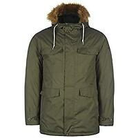 Gelert Siberian Parka Jacket Mens Green Jackets Coat  Size XL