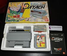 DRAGON BALL Z DATACH SPECIAL GAME + CARDS DBZ - FAMILY COMPUTER NES IMPORT JAPAN