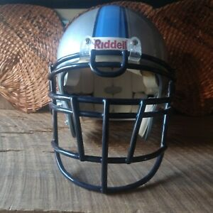 Citadel Military College Bulldog Riddell Game Worn Football Helmet
