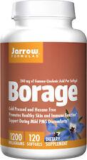 JARROW - Borage GLA-240+Gamma Tocopherol 240 MG 120 SFTGELS