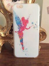 Iphone 6 & 6S caja del teléfono móvil Disney Tinkerbell Hadas Peter Pan regalo de cumpleaños