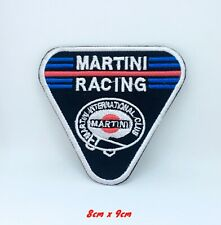 Martini Racing Club Biker Jacket Iron on Sew on Embroidered Patch #1321