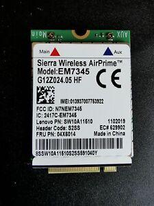 LTE M.2 Karte für Lenovo Thinkpad Sierra Wireless EM7345 4G 04X6014